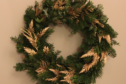 Fresh Greens Wreath